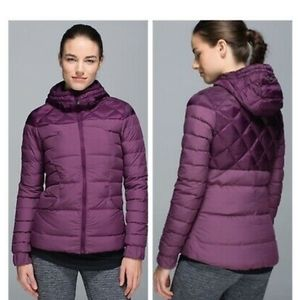 LULULEMON Fluffing Awesome Down Jacket, no tag sz4